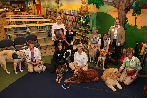 The READ dogs and their owners
