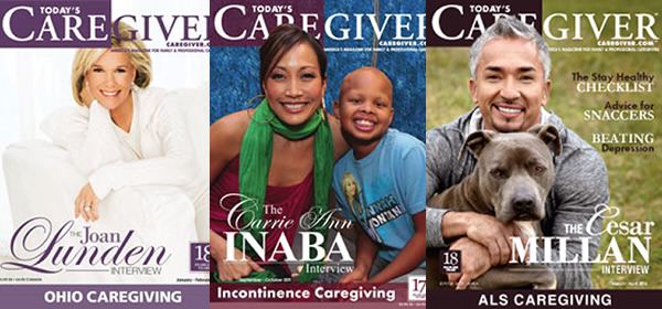 Covers of Today's Carggive Magazine.
