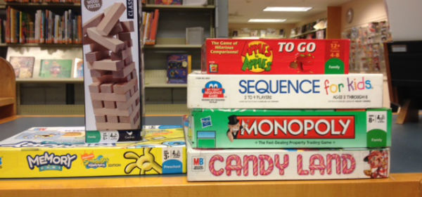 A selection of board games