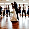 Bride & Groom Dancing Feature
