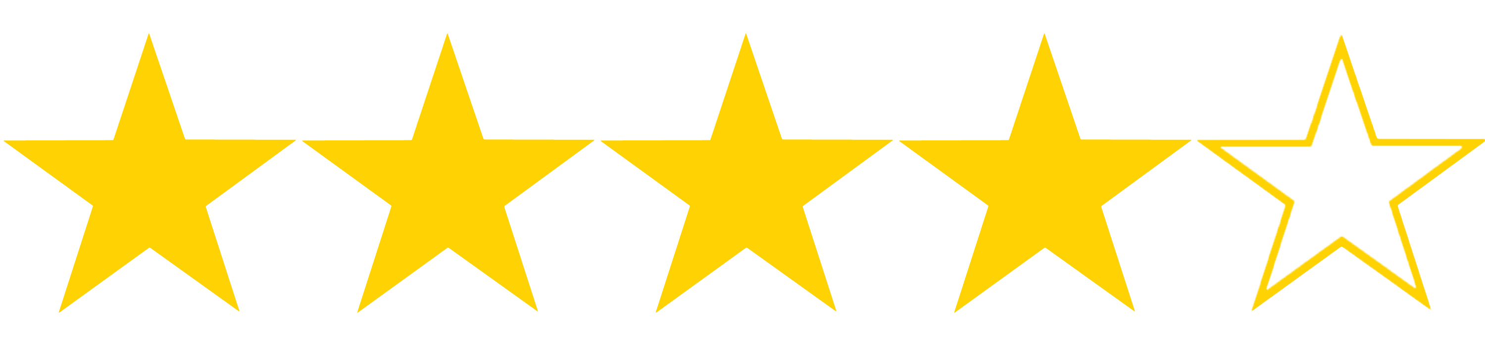 Image result for four stars out of 5