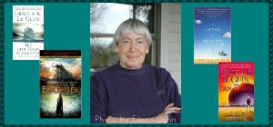 Ursula Le Guin with Selected Titles