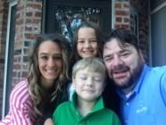 stephanie hall and family