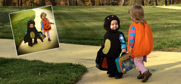 Get kids out walking this Halloween