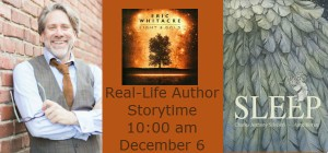 Real-Life Author Storytime 10:00 am December 6