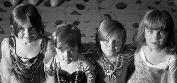 four princess friends