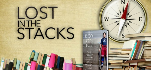 lost in stacks boy ice book