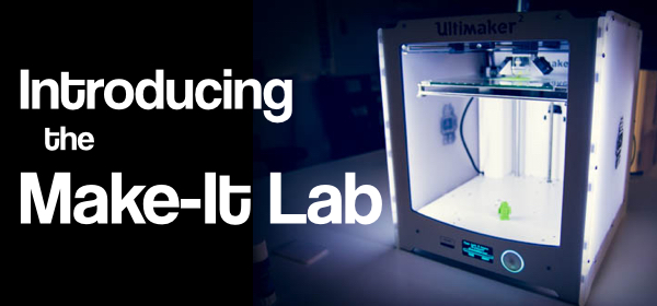 The Make-It Lab, the library's new makerspace