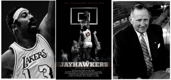 Wilt Chamberlain and Forrest Allen in Jayhawkers