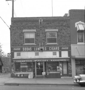 Photograph of Lytle's Drug Store, c. 1962