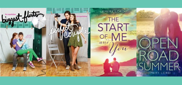 Four new teen romance novels available at your library!