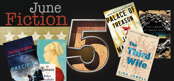 Fiction Five Header Books