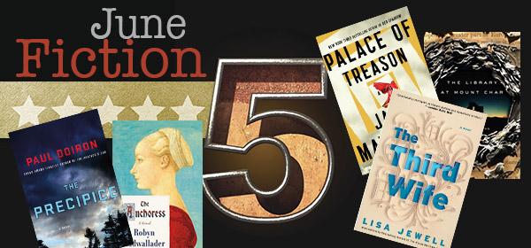 Fiction Five Header Books