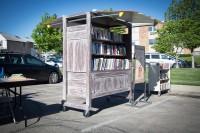 Friends book cart