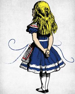 Alice back