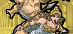 greek goddess and god at war