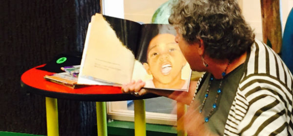 Teacher reads aloud
