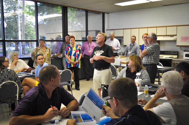 Community workshop at Garfield community center