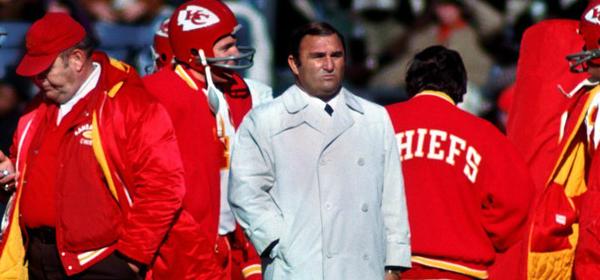 Coach Hank Stram
