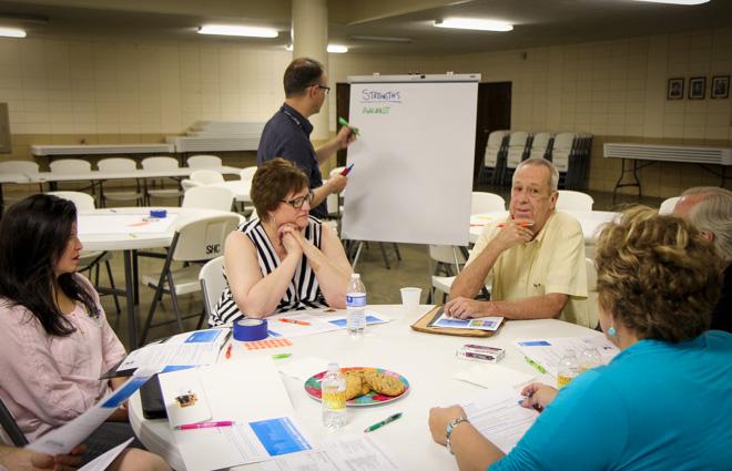Community workshop breakout group