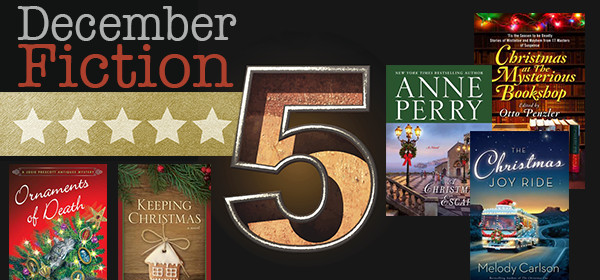 Fiction Five Header Books Dec