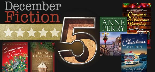 Fiction Five Header Books Dec