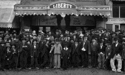 Charlie Chaplin look-alike contest 1921