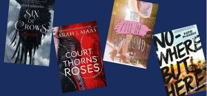 book covers of some best books of 2015 in the YA genre