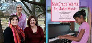 Jo, Vera, and Mary-- MyaGrace Wants to Make Music cover