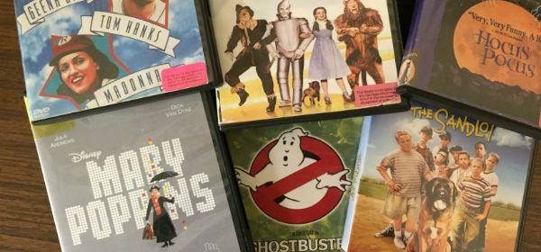 assorted movie covers