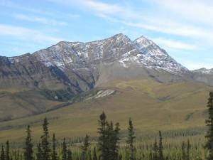 The Brooks Range along the Dalton Highway