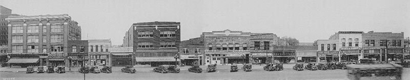 900 block of Kansas Avenue circa 1930-1939 | Courtesy of KansasMemory.org, Kansas State Historical Society