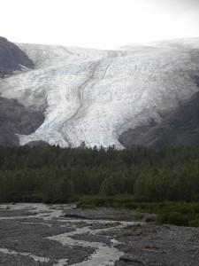 photo of Exit Glacier
