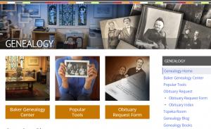 Genealogy Webpage