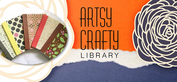 artsy crafty header books