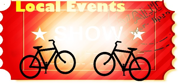 Local events ticket with bikes