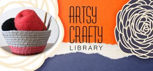 artsy crafty header coiled basket