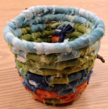 Coiled Basketry workshops will take place at local community centers.