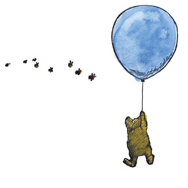 Image result for winnie the pooh eh shepard balloons