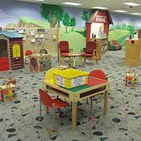 Play area in Kids Library