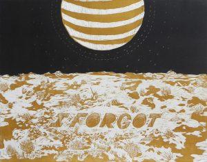 Kim Morski, I Forgot, reduction print