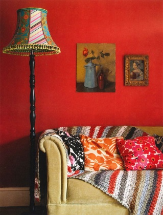 "Photo from ""Handmade Lampshades"" by Natalia Price-Cabrera. Call #746.09 PRI"