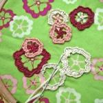Stitching on printed fabric