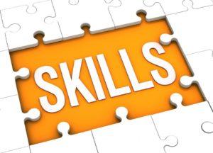 orange puzzle for Skills