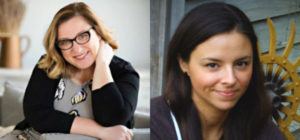 Photo of authors Jen Mann and Angie Pickman