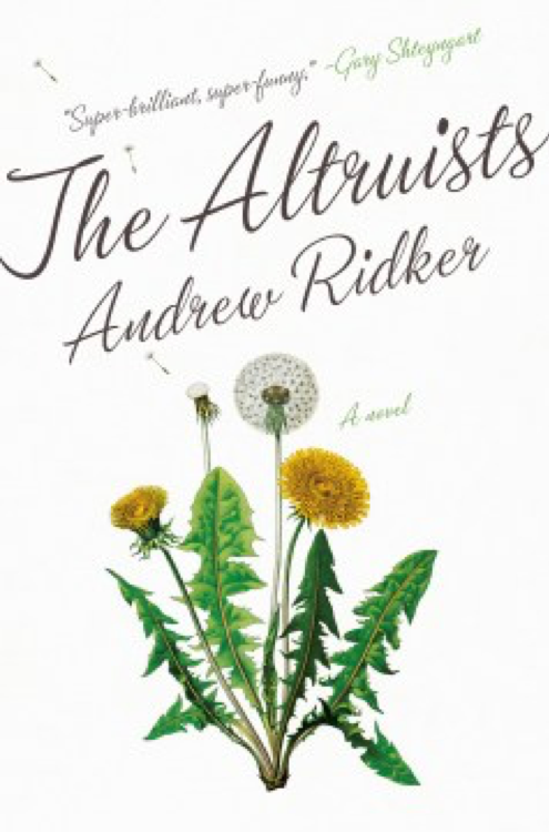 book cover of The Alturists - dandelions