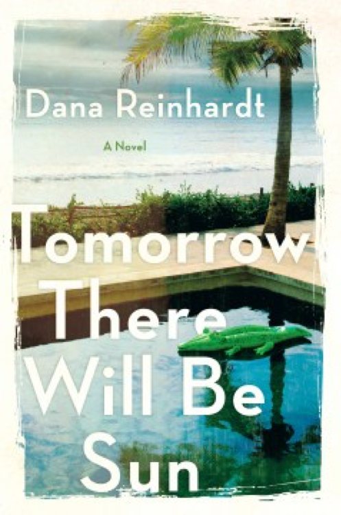 book cover of Tomorrow There Will be Sun - a pool, palm tree and ocean