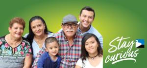 Hispanic family 3 generations