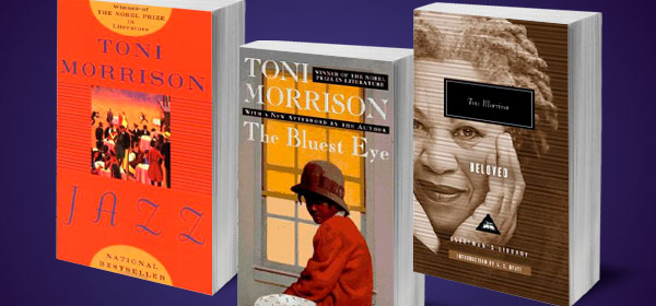 images of 3 Toni Morrison books