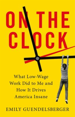 Jacket cover of On the Clock